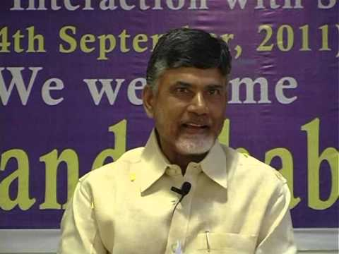 Our CM Sri N.Chandra Babu naidu garu with Students @ RISE Groups.
