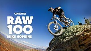 Mountain Biking an Enduro Playground in British Columbia   Raw 100