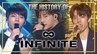 INFINITE Special part.2 ★Since 'Last Romeo' to 'Tell me'★ (1h 23m Stage Compilation)