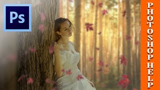 How To Create Blur and Soft Light Effect in Photoshop cs6  Photoshop tutorial #16
