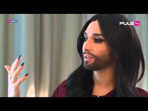 Conchita Wurst - PULS 4 News auf ProSieben Austria vom 09.03.2015