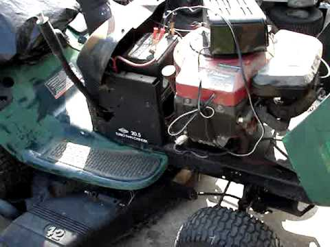 Just Got A Free Craftsman Lt1000 20 5 42 Tractor Youtube