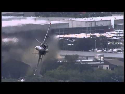 Super Hornets Riverfire Rehearsal | 9 News Queensland