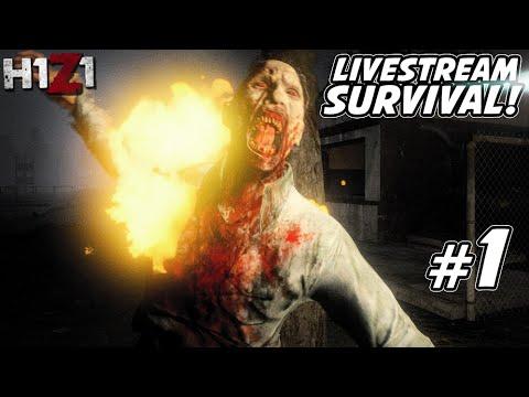 H1Z1 Survival Part 1: Brave New World!!! - Live Stream Gameplay