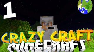 "Minecraft CRAZY CRAFT 3.0 #1""RANDOM LOOT ROOM!?"" (Crazy Craft SMP)"