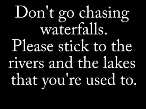 Waterfalls by TLC lyrics (in F)