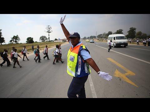 Meet Dorah, the viral dancing traffic cop, teaching motorists to smile thumbnail