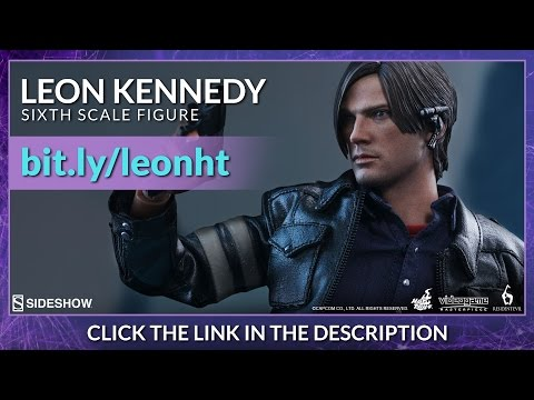 Resident Evil 6 Hot Toys Leon S. Kennedy Video Game Masterpiece 1/6 Scale FigureReview