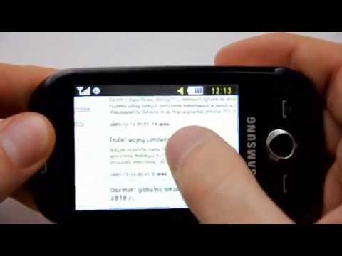 Samsung S3650 Corby - camera. Internet - part 2