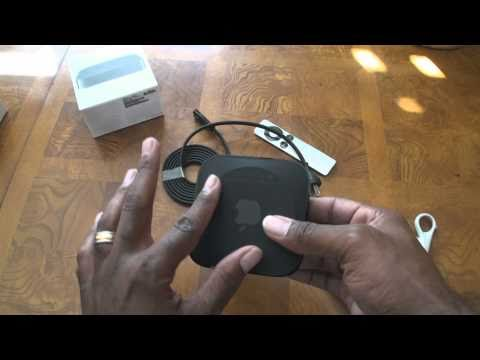 Apple TV Box Opening and First Look