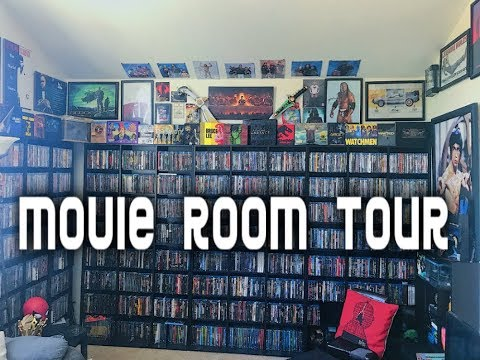 MOVIE ROOM TOUR