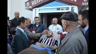 Nevşehir'li Afrin Gazisi Evine Getirildi