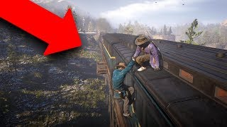 ROBBING A TRAIN! *HEIST!* | Red Dead Redemption 2 Outlaw Life #1