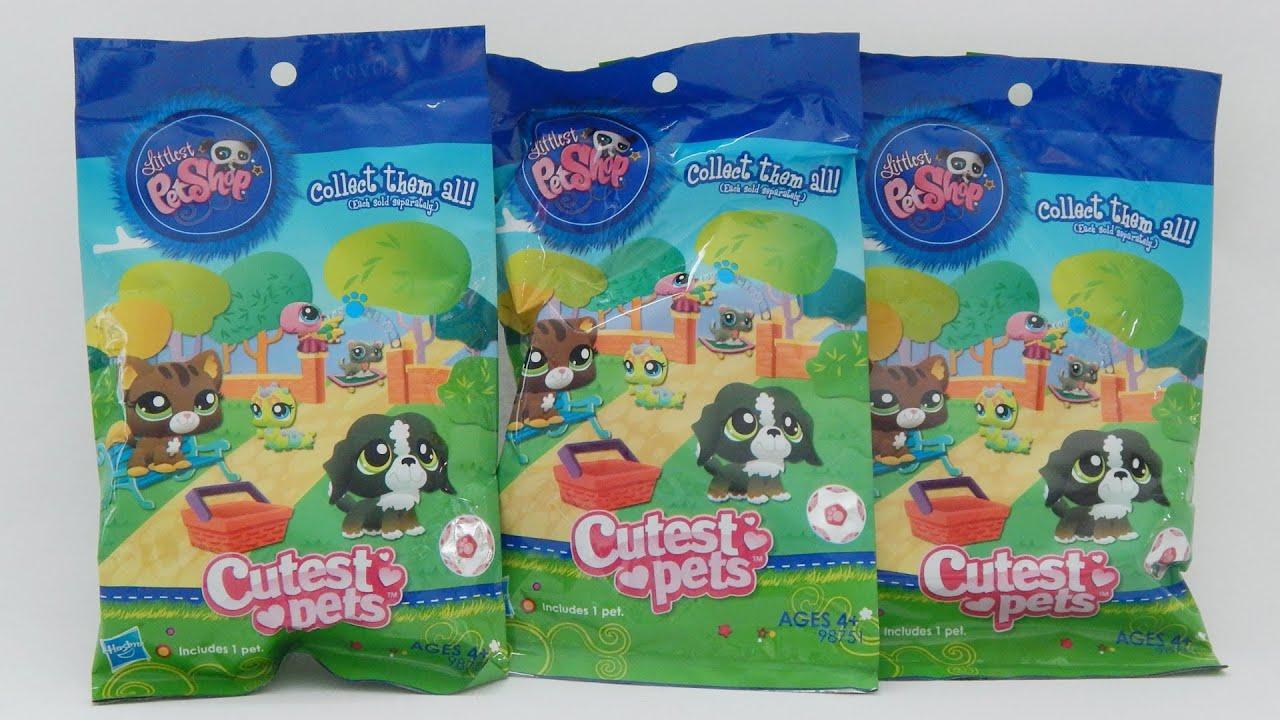 Littlest Pet Shop Cutest Pets Blind Bags - YouTube
