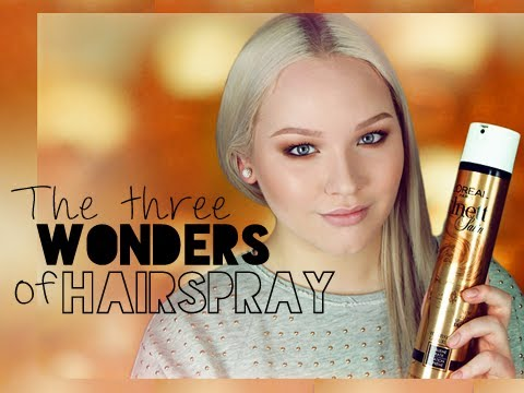 Quick Tip: The Three Wonders of Hairspray