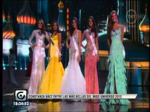 CONSTANZA BAEZ / 3er puesto en el Miss Universo 2013
