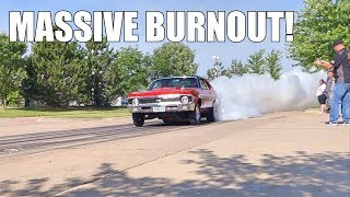 Quad Cities Cars and Coffee Burnouts/Accelerations June 6, 2015