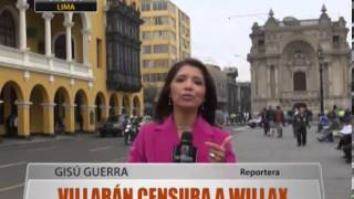 Villar�n Censura A Willax