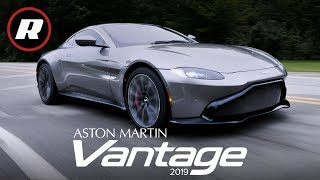 2019 Aston Martin Vantage: A beautiful and thrilling 195 mph sports car | Review