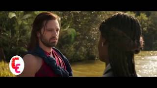 Bucky take rest in Wakanda with shuri after lost his metal arm||Hidden Scene|| Black Panther|| 2018
