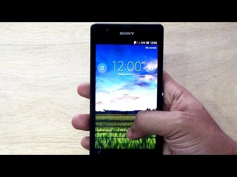 Sony XPERIA ZR Unboxing & Hands on Review. best phone under $500- Gadgets Portal EXCLUSIVE