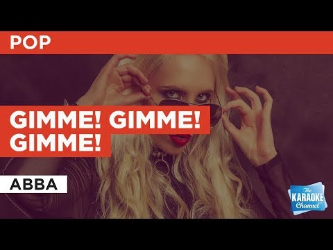 Gimme! Gimme! Gimme! in the style of ABBA | Karaoke with Lyrics