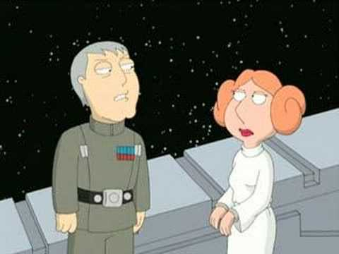 Family Guy Presents Blue Harvest:  Darth Doody  Clip