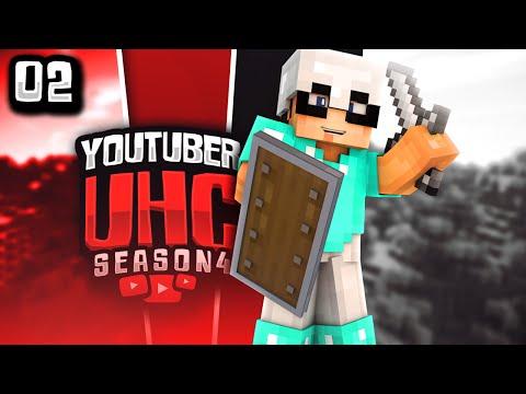 Minecraft YouTuber UHC Season 4: Episode 2 - Abandoned Mine Shaft