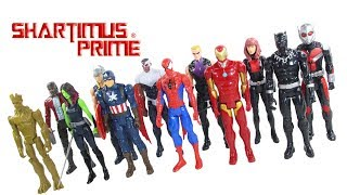 Marvel Titan Heroes Series Mega Collection 12 Pack