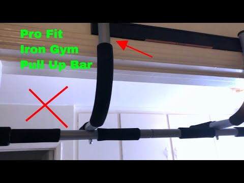 ✅  How To Use Pro Fit Iron Gym Pull Up Bar Review