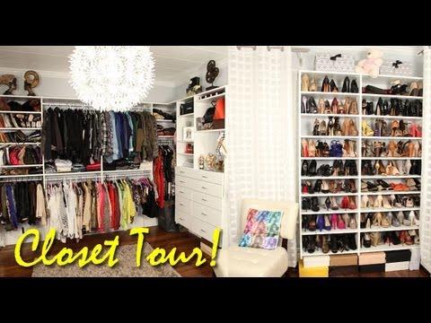 Tour pelo meu Closet! por Camila Coelho