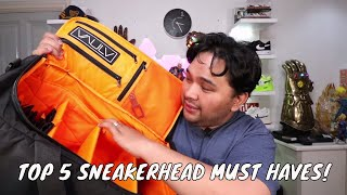 TOP 5 SNEAKERHEAD MUST HAVES (APART FROM SHOES)