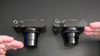 Sony RX100 VI vs RX100 V