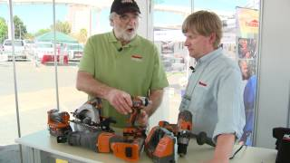 National Hardware Show 2012 Ridgid Lithium Ion Combo Kit