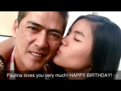 Happy Birthday to the best Dad VIC SOTTO/ April 28, 2013
