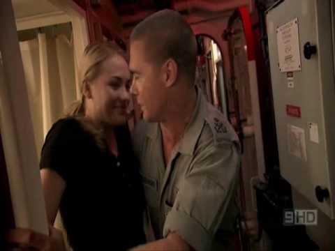Yvonne Strahovski - cute scene in Sea Patrol