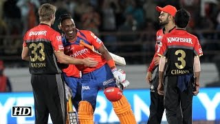 Download IPL 9 GL vs RCB: GL thrash RCB despite Virat Kohli's 100 3Gp Mp4