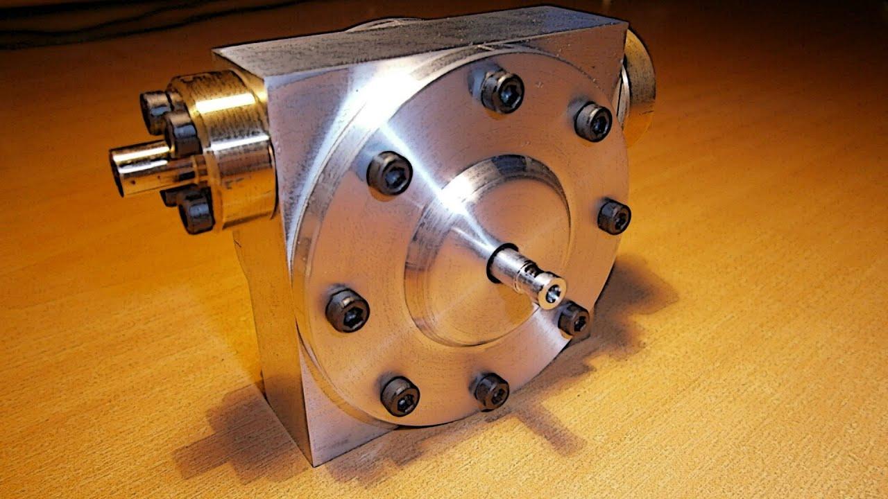 Микро паровой двигатель