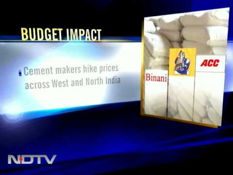 Budget impact: Cement prices rise