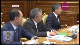 Нурсултан Назарбаев провел встречу с представителя силовых структур (09.08.17)