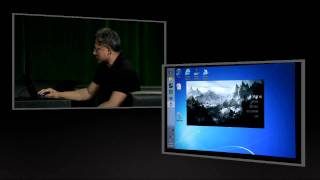 NVIDIA Press Conference @ CES 2012 - Splashtop THD Virtual Desktop Demo