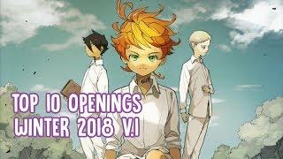TOP 10: Anime Openings Winter 2019 v.1