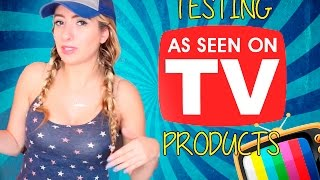 TESTING *AS SEEN ON TV* PRODUCTS