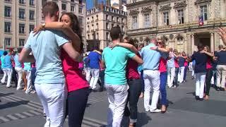1er Flashmob de Kizomba à Lyon (France)