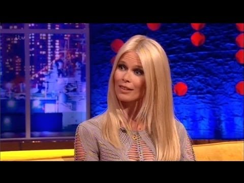 """Claudia Schiffer"" On The Jonathan Ross Show Series 6 Ep 9.1 March 2014 Part 1/5"