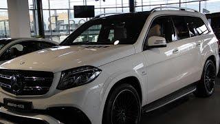 Mercedes-Benz GLS-klasse AMG с пробегом 2016 | ООО АВАНГАРД ОФИЦИАЛЬНЫЙ ДИЛЕР «МЕRCEDES-BENZ»