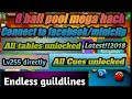 8 ball pool 13.12.4 mega mod!!longline!!anti ban!!auto win!!best 2018 mod ever!!