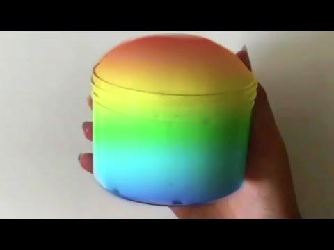 Iceberg Slime - Satisfying Slime ASMR #13!