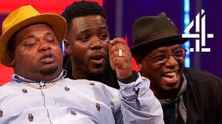 Big Narstie Takes Out Earpiece and GOES ROGUE?? & Ian Wright Interview!   The Big Narstie Show