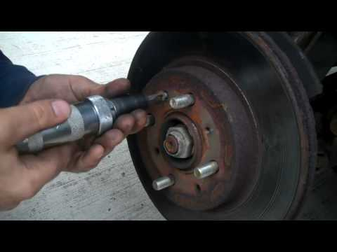 2001 HONDA CIVIC FRONT BRAKE JOB
